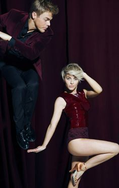 Julianne and Derek Hough  #MoveLiveOnTour
