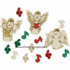 Jesse James Dress It Up Holiday Embellishments A Choir Of Angels Online Craft Store, Craft Stores, Angel Dress, Jesse James, Button Dress, Joanns Fabric And Crafts, Choir, Scrapbook Pages, Scrapbooking