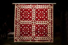 Infinite Variety, Three Centuries of Red and White Quilts.