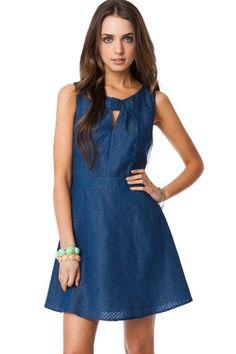 ShopSosie Style : Dobbins Chambray Dress