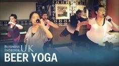 People are doing yoga while drinking beer ÍGY CSAK EGÉSZSÉGES LEHET A SÖRIVÁS!