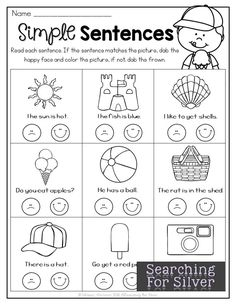 No Learning Loss Here! FUN and hands-on summer printables for Kindergarten!