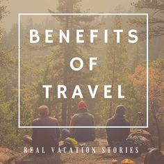 It has often been said that spending money on experiences can make us feel more fulfilled than buying material objects. We may feel richer on payday but the real world benefits of #traveling not only include making you feel happier but can help you become more successful in your career and beyond. #benefitsontravel