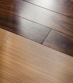Interior Clear Lines Wood Floor To Darker Planks Tile