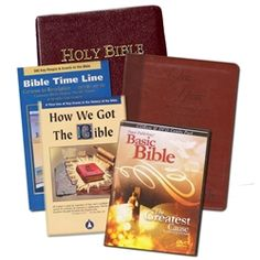 Special Offer: The #TCT Partner Subject #Bible & #DVD, 1yr Devotional #Prayer Book & 2 Pamphlets: Bible Time Line & How We Got The Bible for a gift of $200.
