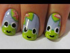 Happy Frog Nail Art Tutorial