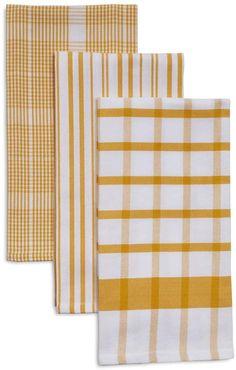 4f13d37e5 Sur La Table Assorted Twill Kitchen Towels