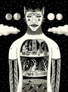/// Wooow <3 Jon Macnair #illustration