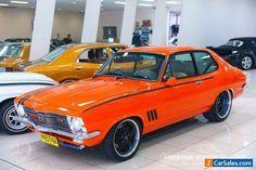 1971 Holden Torana LC GTR Orange Manual 4sp M Sedan #holden #torana #forsale #australia