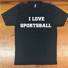 Sports! Touchdown! Goal! I definitely know what off sides means.  Super soft crew neck tee. This unisex style runs true to size and is made to be slouchy. Color is VINTAGE BLACK