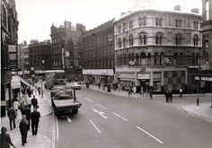 Photos Leeds 1960s | Leeds 1960`s | Boar Lane | By: cliffordstead | Flickr - Photo Sharing! Old Pictures, Old Photos, Leeds England, Leeds City, Manchester Uk, West Yorkshire, Filming Locations, Countryside, Tourism