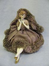 1920 half doll pincushion