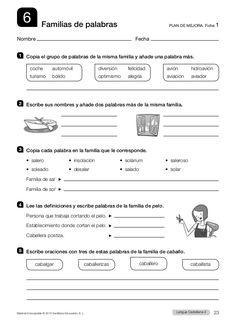 Grammar Book, Spanish Grammar, Spanish Class, Spanish Exercises, School Frame, School Projects, Teaching Resources, Homeschool, Classroom