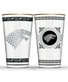 135bee4ad4c Game of Thrones Stark Pint Glass - Set of Two