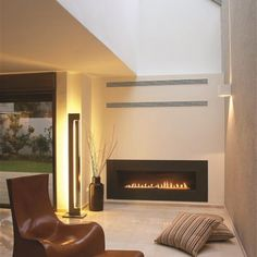 ortal's Minimal 130 gas direct vent fireplace This is just one of many Ortal Fireplaces We offer at Goodrich Chimney Services as a Ortal Dealer! gcsmainoffice@gmail.com