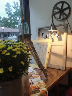 Our Store window display at a recent  show.