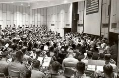 Aggie Band - 1971-1980 - Practice in the Band Hall! It's crazy getting to practice in there every day