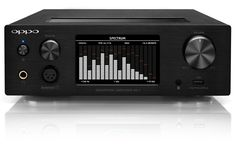 Headphone Amplifier  Discrete Class A Balanced Headphone Amplifier  Asynchronous USB DAC Up to 384 kHz and DSD256  Stereo Pre-Amplifier with Home Theater Bypass  Compatible with iPod/iPhone/iPad and Bluetooth