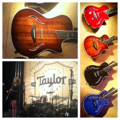 Taylor guitars t5's and live music from the Taylor Showroom at NAMM 2014.LIKE,SHARE,POST ON FB #guitars #taylor #music #musicians