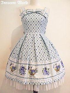 Innocent World ローズガーデンジャンパースカート