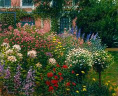Monet's Garden - Ardys Petrick - Art for Conservation