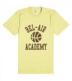 Fresh Prince Bel-Air Academy Basketball Shirt