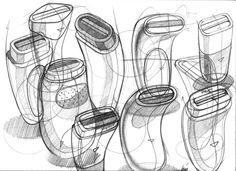 Sketch from Industrial Designer, Spencer Nugent
