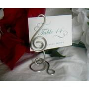 G Clef Table Number Stand