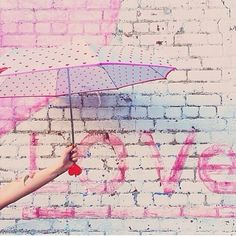 A little rain in the forecast won't stop us! Just be sure to pack your @shopbando cute heart umbrella for those afternoon showers. See? It's... // @shopbicyclette on instagram