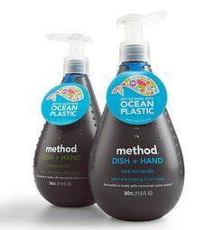 Botellas plastico reciclado del mar