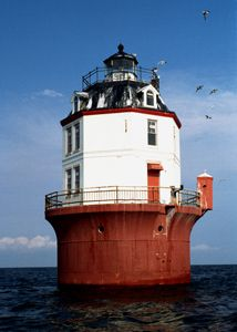 Point No Point Lighthouse, 6.3 miles north of Point Lookout