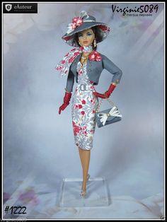 Tenue Outfit Accessoires Pour Fashion Royalty Barbie Silkstone Vintage 1222 | eBay                                                                                                                                                                                 Plus