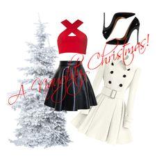 Naughty Christmas Naughty Christmas, Fashion Sets, Diva, Polyvore, Image, Fashion Outfits, Divas, Godly Woman