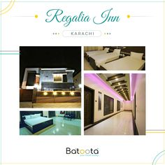 The Regalia Inn located on Shara-e-Faisal is a luxury hotel holding high quality service. Reserve with Batoota for high-end rooms and deals. Pakistan Hotels, City Lights, Traveling By Yourself, Detail, Luxury, Book, Beautiful, Book Illustrations, Books