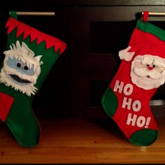 diy stockings. Picture only!
