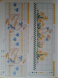 Gallery.ru / Фото #3 - saranta a - ergoxeiro Cross Stitch Bookmarks, Cross Stitch Bird, Cross Stitch Borders, Cross Stitch Animals, Cross Stitch Flowers, Cross Stitch Designs, Cross Stitching, Cross Stitch Embroidery, Cross Stitch Patterns