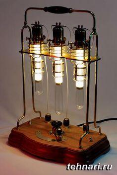 Настольная лампа в стиле стимпанк - Статьи
