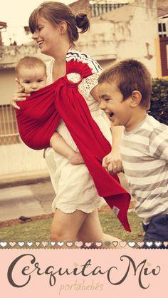 """""""La SEGURIDAD de llevar bien cerquita a tu bebé, y la LIBERTAD para llevar de la mano en el mismo camino de AMOR a sus hermanos mayores"""""""