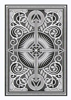 Arcana Playing Cards inspired by Tarot-Artwork by Chris ...