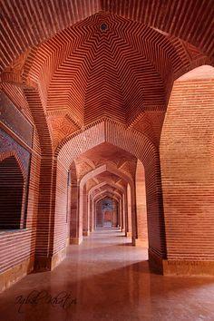 Shah Jahan Masjid . Pakistan
