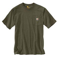 e39d1772 Carhartt Men's K87 Workwear Pocket Short Sleeve T-Shirt (Regular and Big &  Tall Sizes)