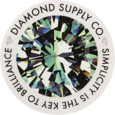 Help Diamond Supply Co Take Over The World And Slap A Simplicity Sticker On Anything Is Circular Shape With