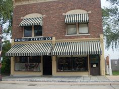 Greenfield Village.  The actual Wright Brothers Cycle shop, where aviation was born.