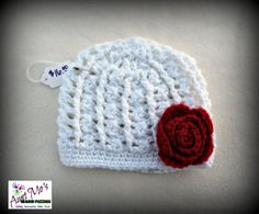 Toddler Cable & Lace Cloche by AuntMosWarmFuzzies on Etsy, $16.00