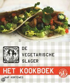 De vegetarische slager - het kookboek - Jaap Korteweg (2012). Ideeën en recepten om te variëren met de producten van de Vegetarische Slager. Kritische noot: soms wordt er gebruik gemaakt van niet-vegetarische ingrediënten als Worcestersauce.