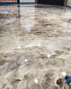 Martini Bar, Stained Concrete, Concrete Floors, Concrete Bar, Concrete Finishes, Plywood Floors, Basement Flooring, Kitchen Flooring, Home Design