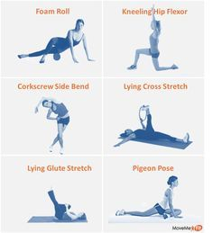 Save your IT band and hip flexors!