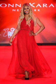 Red Dress Collection at New York Fashion Week Fall 2015 - Runway Photos