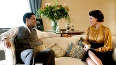 """Agnes (Keeley Hawes) and Caspar Landry (Michael Landes) in Upstairs Downstairs """"The Love that Pays the Price"""" Michael Landes, Blake Ritson, Eaton Place, Sophie Robinson, Bbc One, Great Movies, Love, Costumes, Uni"""