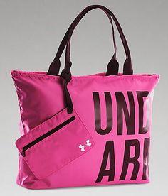 Under Armour® Wordmark Tote - Women s Accessories in Rebel Pink Oxblood  White  529dc00d8b9
